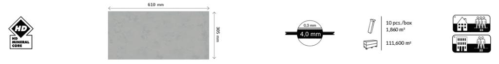 Základné charakteristiky kompozitných podláh Afirmax BiClick Stone